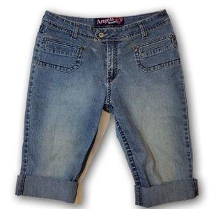 🏈 Angels Jeans Bermuda Women's Shorts